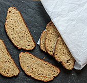 Stale bread (using up leftovers)