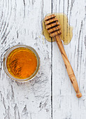 Honey and agave nectar