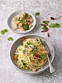 Asian Spaghetti 'Aglio Olio'