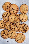 Vegane Chocolate-Chip-Cookies