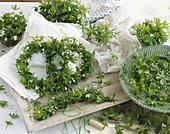 Wreaths of woodruff