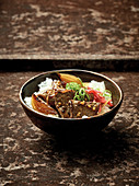 Gyudon – Japanese rice bowl with beef