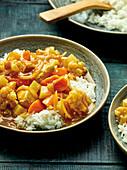 Kare Raisu – Japanese chicken curry
