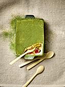 Matchamisu – tiramisu with matcha powder