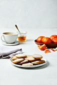 Mandarin honey cookie