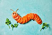 Mandarin kids caterpillar