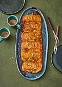 Tarte Tatin with rosemary
