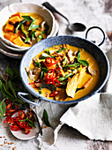 Vegetable Thai yellow curry