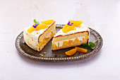 Mango Orange Tart with Mascarpone