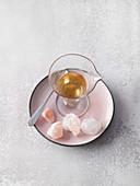 Nasenspülung für die Nasendusche aus Kristallsalzöl