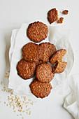 Einfache Hafer-Cookies