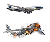 Lockerbie bombing of 1988, illustration
