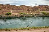 Parker Dam and Colorado River, USA