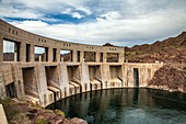 Parker Dam and Colorado River, USA