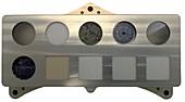 Perseverance rover SHERLOC's calibration target