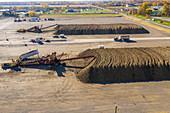 Sugar beet farming, Michigan, USA