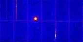 Young magnetar, X-ray image