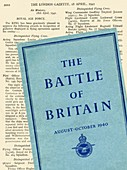 World War Two UK Government publications