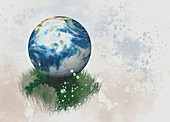 Earth, conceptual illustration