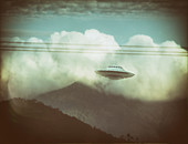 Unidentified flying object, illustration