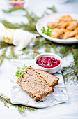 Chicken pate for Christmas