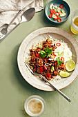 Slow cooker brisket chilli