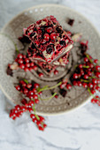 Currant Brownies