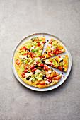 Mediterrane Gemüse-Frittata mit Feta