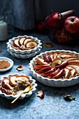 Rye apple pies