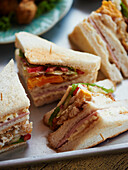 Thai Finger sandwiches