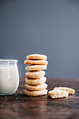 Sugar Cookies with Milk