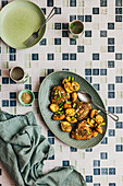 Sichuan pepper and fennel seed chicken and potatoes