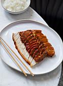 Chinesisches Schweinefleisch 'Char Siu'