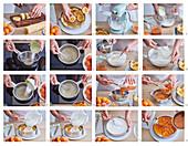 Aprikosenkuchen mit Gelee zubereiten