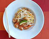 Pad Thai on dish
