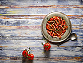 Tomato salad with herbes de provence