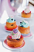 Fruity cupcakes for kids