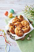 Easter Juda's sweet twists