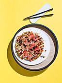 Okonomiyaki (japanischer Pfannkuchen)