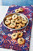 Naankhatai - Orientalische Kekse mit Safran, Kardamom und Pistazien