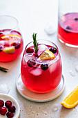 Cranberry-Sangria