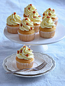Cupcakes with salted caramel