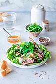 Roastbeef salad