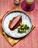 Asian style goose breast