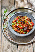 Caponata - Sicilian vegetables