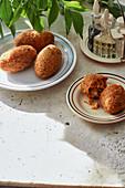 Suppli al telefono - Stuffed rice balls from Lazio
