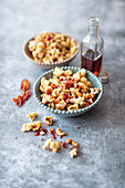 Bacon and maple syrup Popcorn