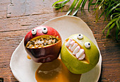 Crazy Apples for Halloween