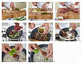 Rindfleischcurry mit grünem Chili zubereiten