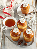 French Rum Babas